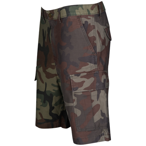 6b96dd75cb Levi's Carrier Cargo Shorts - Men's - Casual - Clothing - Elmwood Gridley  Camo | Twill