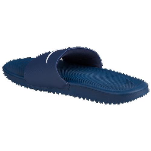 6802faacb35b Nike Kawa Slide - Men s - Casual - Shoes - Dark Grey Black Washed Teal