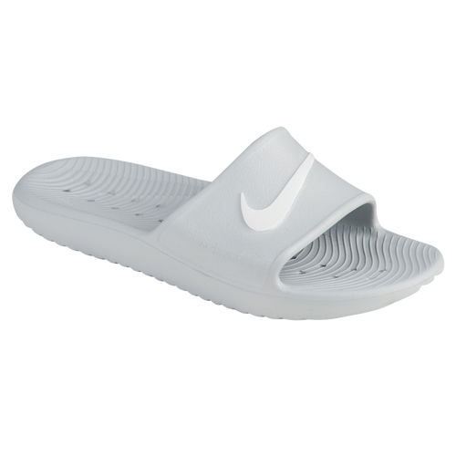 5e7197b1925a Nike Kawa Shower Slide - Women s - Casual - Shoes - Pure Platinum White