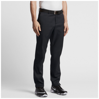 Nike Flat Front Golf Pants - Men's - All Black / Black
