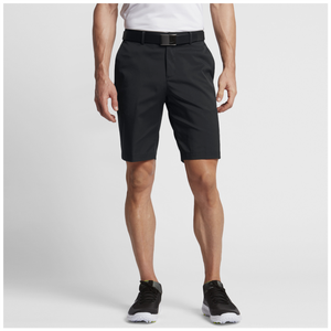 Nike Flat Front Golf Shorts - Men's - Black