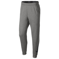 Nike Therma Fleece Tapered Pants - Men's - Grey / Black