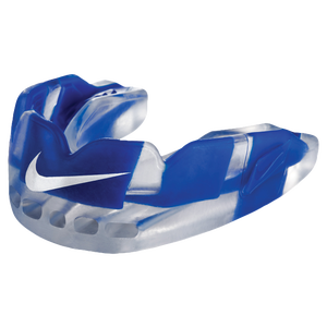 Nike Pro Hyperflow Mouthguard - Adult - Clear/Game Royal/White