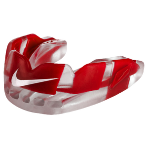 Nike Pro Hyperflow Mouthguard - Adult - Clear/University Red/White