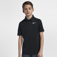 Nike Dri-Fit Victory Solid Polo - Boys' Grade School - Black
