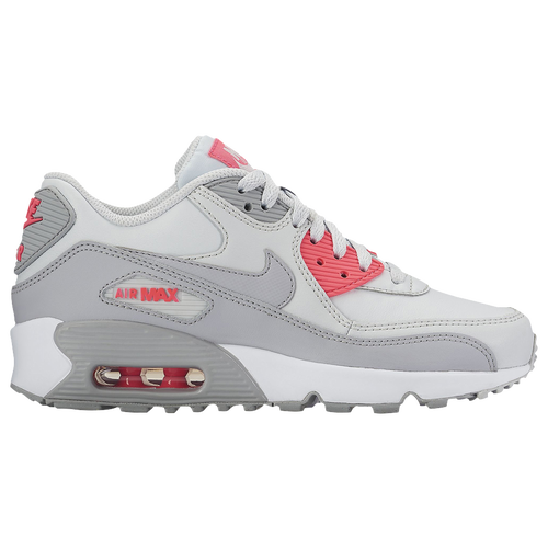 ffea2df5fb53 Nike Air Max 90 - Girls  Grade School - Nike - Casual - Pure Platinum Cool  Grey Lava Glow White