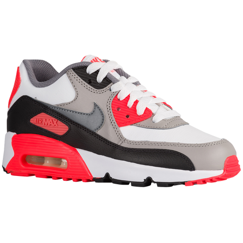 205520aa286664 Nike Air Max 90 - Boys  Grade School - Running - Shoes - White ...