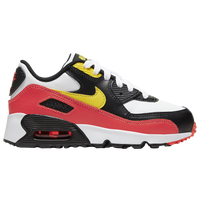 Nike Air Max 90 - Boys' Preschool - White / Red