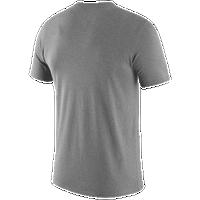 d7fe4fd7 Nike College Basketball Practice DF T-Shirt - Men's - Michigan Wolverines -  Grey /