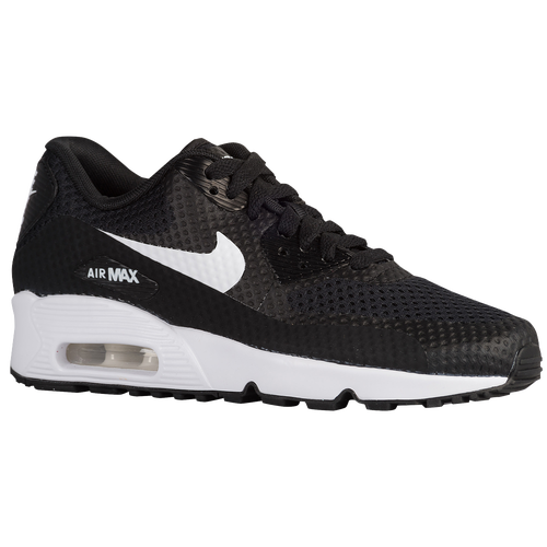 quality design 5059f 1c95e Nike Air Max 90 - Boys  Grade School - Running - Shoes - Black White