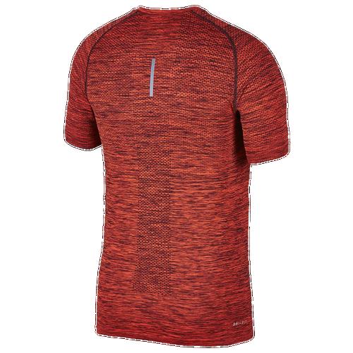 Nike Dri Fit Knit Short Sleeve T Shirt Men S Running Clothing