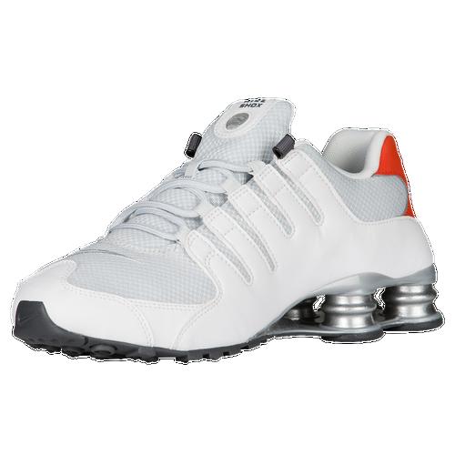 new product 61447 06bfe Nike Shox NZ - Mens - Running - Shoes - WhiteMetallic SilverMax OrangeBlack  ...