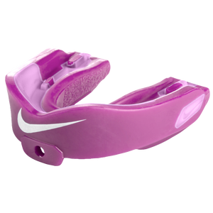 Nike Hyperstrong Mouthguard With Flavor - Adult - Pink Fire Ii/White