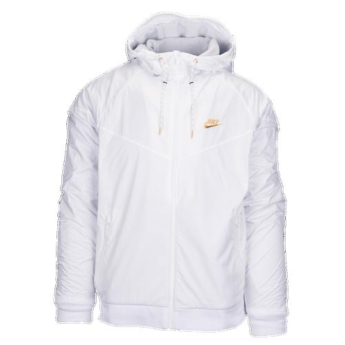 Blanc Noir Et Or Nike Windrunner