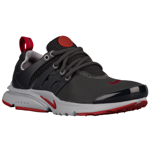 Nike Presto - Boys' Grade School - Casual - Shoes - Anthracite/Gym Red/Wolf  Grey