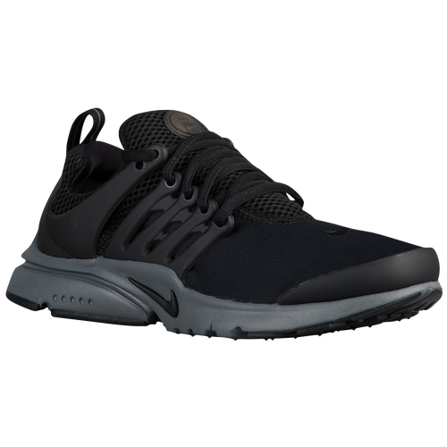 Nike Presto - Boys  Grade School - Running - Shoes - Black Black Dark Grey 4bc30d33a