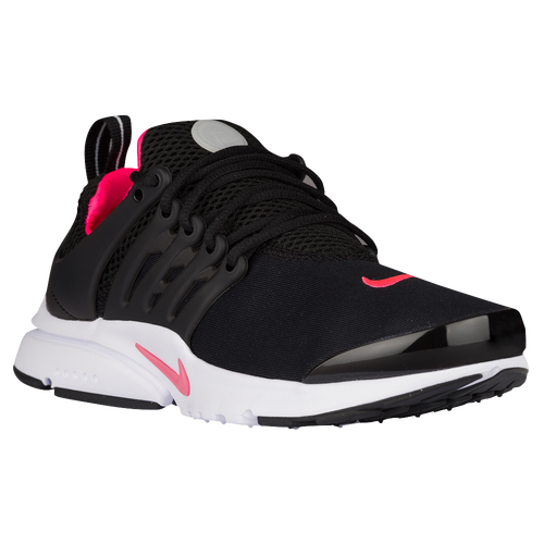 Nike Presto - Girls' Grade School - Casual - Shoes - Black/Hyper Pink/White