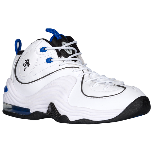 Nike Air Penny II - Men's - Basketball - Shoes - White/Varsity Royal/Black