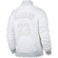 8719fc5142 Jordan Retro 6 Bomber Jacket - Men s - White   Grey