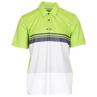 Oakley Color Block Take Polo - Men's - Light Green / White