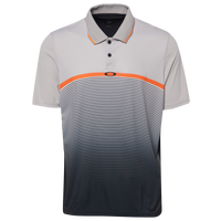 Oakley Ellipse Golf Polo - Men's - Grey / Black