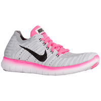 31ed13af9fae9 Nike Free Run Flyknit - Girls' Grade School - White / Black