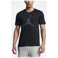 22826c15 Jordan The Iconic Jumpman T-Shirt - Men's - Black / White