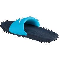 f1602aaa6 Nike Kawa Slide - Women s - Casual - Shoes - Chlorine Blue White ...