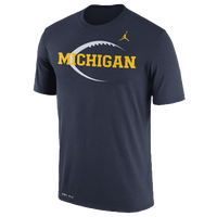 f234b02468dcf1 Jordan College Dri-FIT Legend Icon T-Shirt - Men s - Michigan Wolverines -
