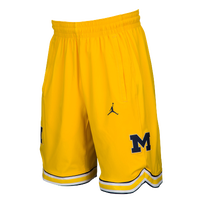 5aa6748e02a8 Nike College Authentic On Court Shorts - Men s - Michigan Wolverines - Gold    Navy