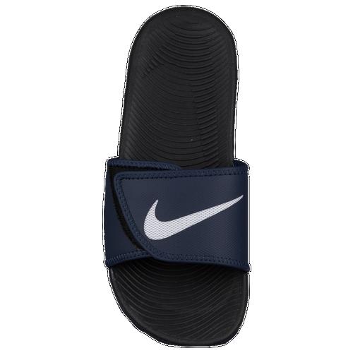 25da98b0251 Nike Kawa Adjust Slide - Men s - Casual - Shoes - Obsidian White Black