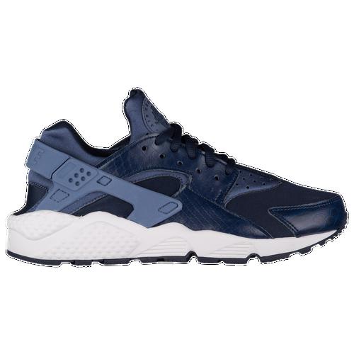 Nike Air Huarache - Women's Casual - Diffused Blue/Obsidian/Summit White/Black 34835408