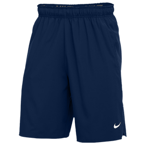 Nike Team Flex Woven Pocket 2.0 Shorts - Men's - Navy/White