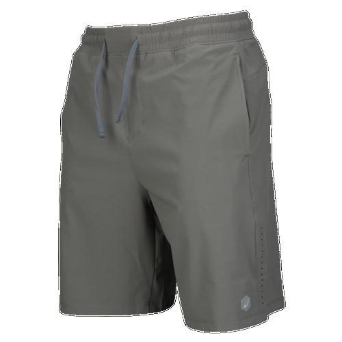 asics running shorts mens castlerock