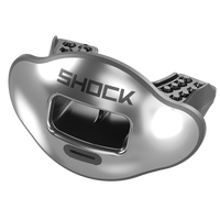 Shock Doctor Max AirFlow 2.0 Lip Guard - Adult - Silver