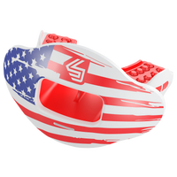 Shock Doctor Max AirFlow 2.0 Lip Guard - Adult - White / Red