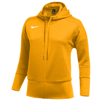 Nike Team Authentic Dry Full-Zip Hoodie - Women's - Gold