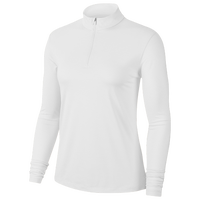 Nike Dry Victory UV 1/2 Zip Golf Top - Women's - White