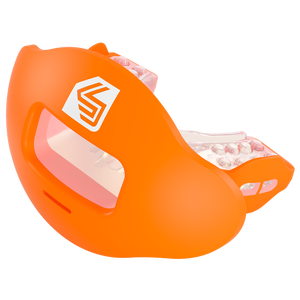 Shock Doctor Max AirFlow 2.0 Lip Guard - Adult - Orange/Clear