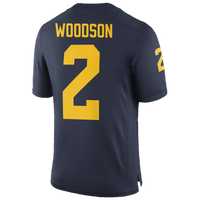 Nike College Player Game Jersey - Men s - Charles Woodson - Michigan  Wolverines - Navy   a6c01d6bb