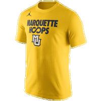 cb8ccfff5da3e1 Jordan College Basketball Hoops All Day T-Shirt - Men s - Marquette Golden  Eagles -