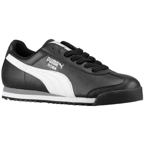 PUMA Roma Basic - Men s - Casual - Shoes - Black Black 795bea4a1
