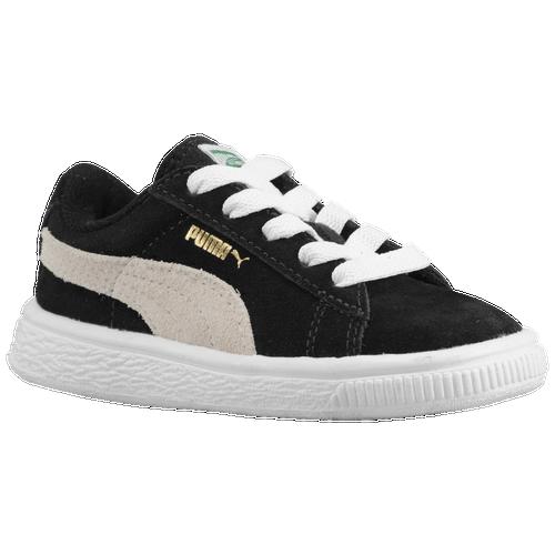 PUMA Suede Classic - Boys  Preschool - Basketball - Shoes - Black White 171397a38