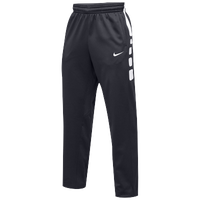 Nike Team Elite Stripe Pants - Men's - Grey / White