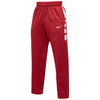 Nike Team Elite Stripe Pants - Men's - Red / White