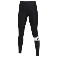 Nike Team Authentic Colorblock Power Tights - Women's - Black
