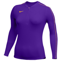 Nike Team Authentic Dry 1/2 Zip Top - Women's - Purple