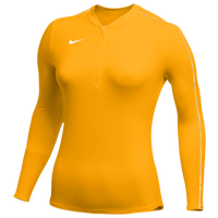 Nike Team Authentic Dry 1/2 Zip Top - Women's - Gold