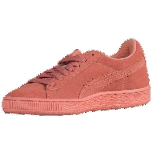 puma shoes for ladies 2017. puma suede classic - girls\u0027 grade school orange / puma shoes for ladies 2017 e