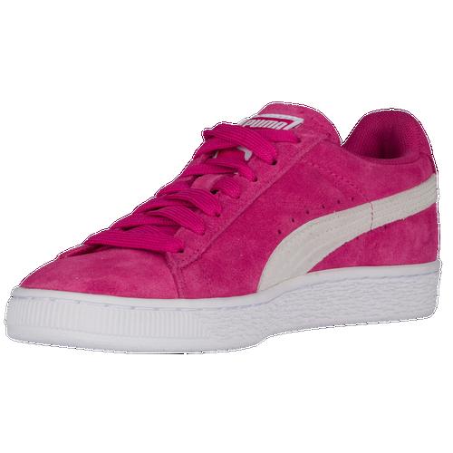 620f068b8e6d PUMA Suede Classic - Women s - Casual - Shoes - Fuchsia Purple White
